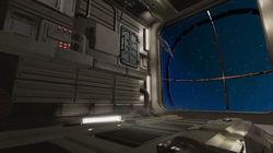 בריחה מתחנת החלל לוגו