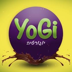 Yogi יוגי לוגו