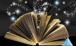 ספר סודות היקום לוגו