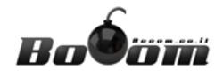 BOOOM לוגו