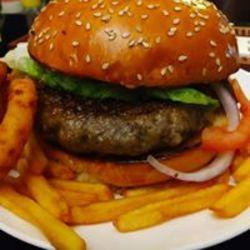Hot burger לוגו
