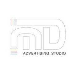 מ.ד. סטודיו לפרסום לוגו