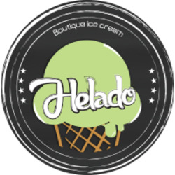 Helado גלידה איטלקית לוגו