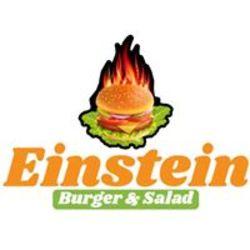 einstein burger&salad לוגו