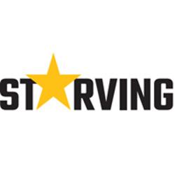 Starving לוגו