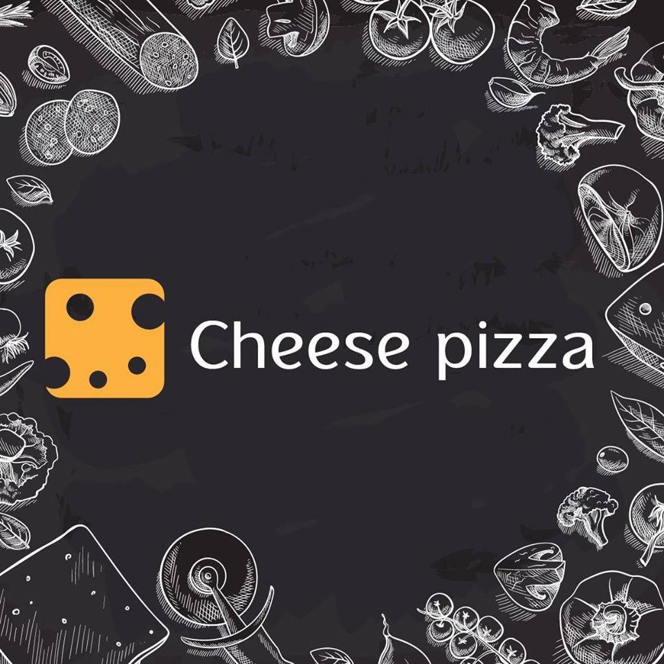 Cheese pizza לוגו
