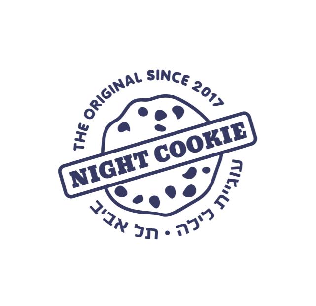 Night Cookie לוגו
