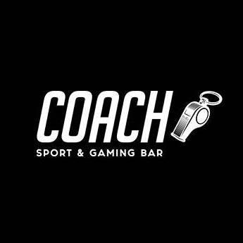 Coach sport & gaming bar לוגו