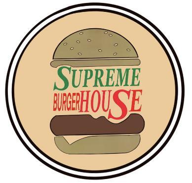 Supreme burger house לוגו
