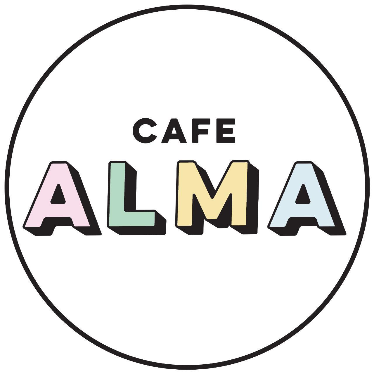 קפה עלמה לוגו