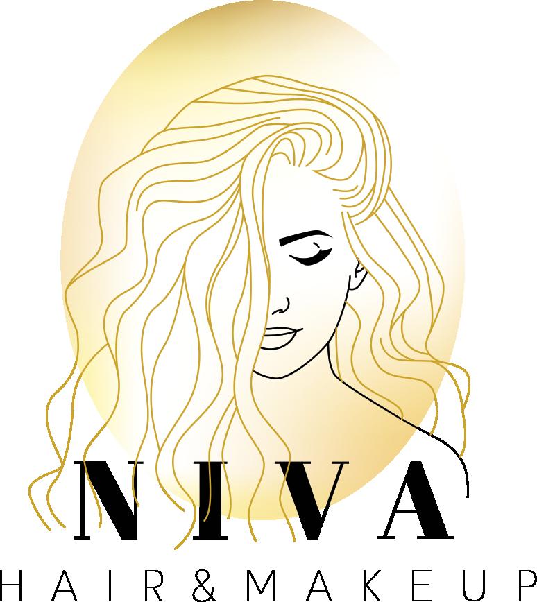 ניבה עיצוב שיער לוגו