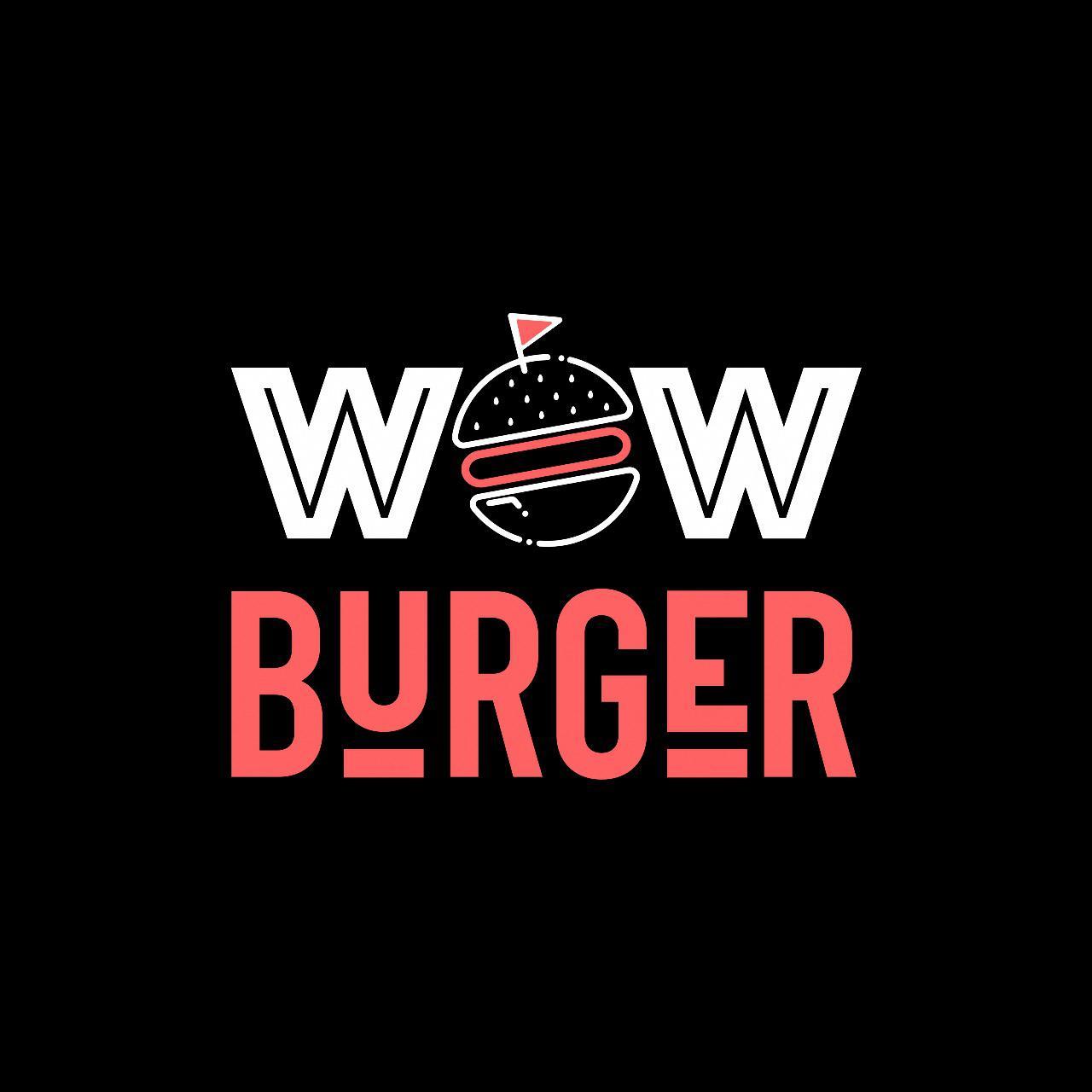 WOW BURGER לוגו