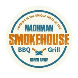 נחמן BBQ & grill לוגו