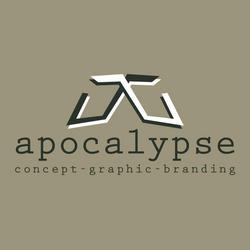 apocalypse concept graphic branding