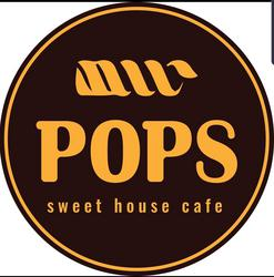 Pops sweet house cafe לוגו