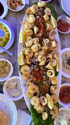 מיקס דגים פירות ים