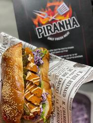 Piranha only fresh meat לוגו