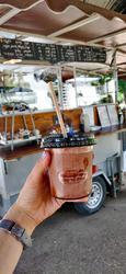 עגלה של קפה לוגו