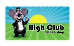 המועדון והעשן High Club לוגו