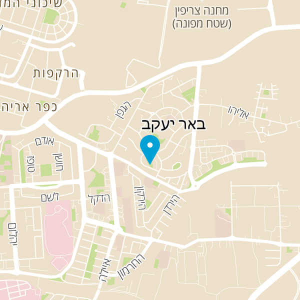 מפה של שיפודי שלמה המלך