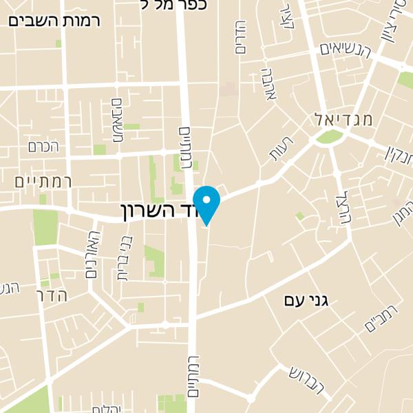 מפה של מספרת אבי שבת