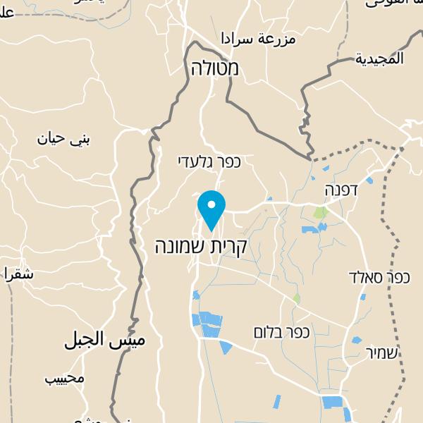 מפה של שואו קוקיז