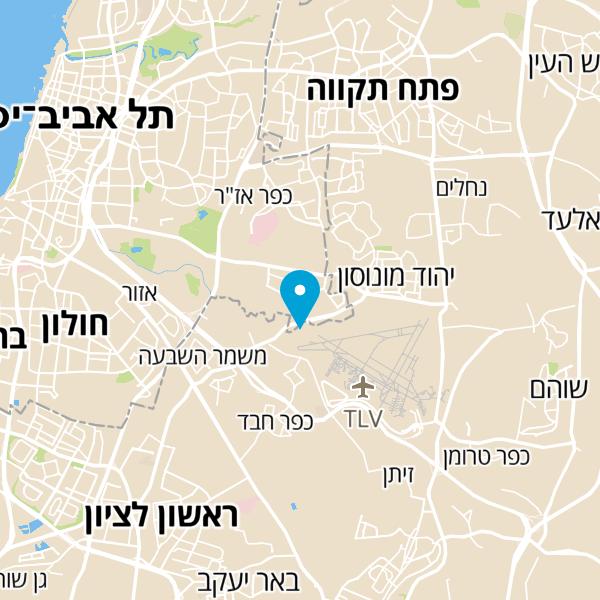 מפה של שייק סנטר
