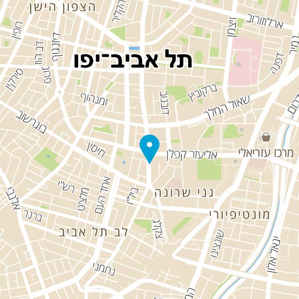 מפה של GDB