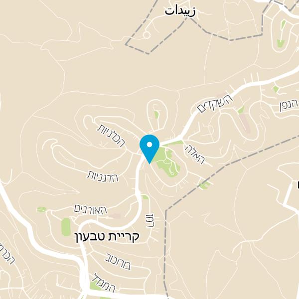 מפה של מאפית אריאל