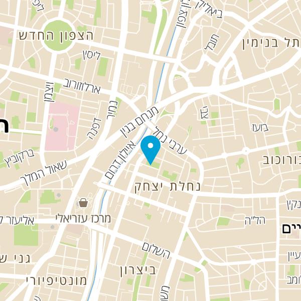 מפה של מכון טמיר
