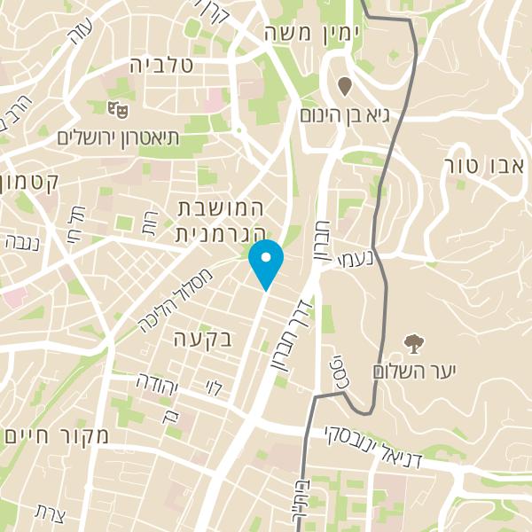 מפה של גינת תמר