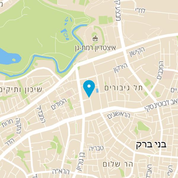 מפה של Ezi cohen law office