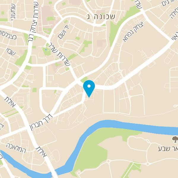 מפה של מסעדת אלבי