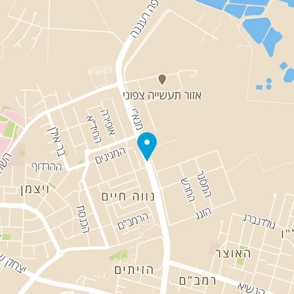 מפה של מוסך שמוליק