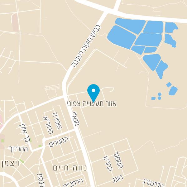 מפה של מוסך השלושה