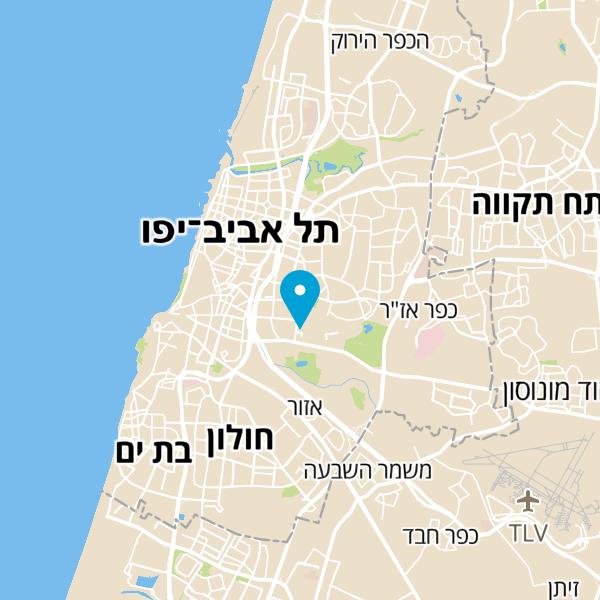 מפה של מאפיית פת שחרית
