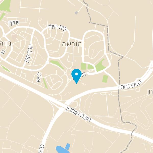 מפה של X.o בר בורגר