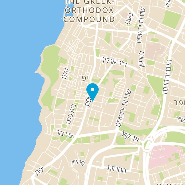 מפה של שווארמה חג' כחיל