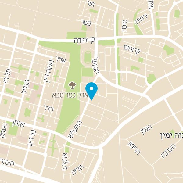 מפה של רטרו דיינר בר