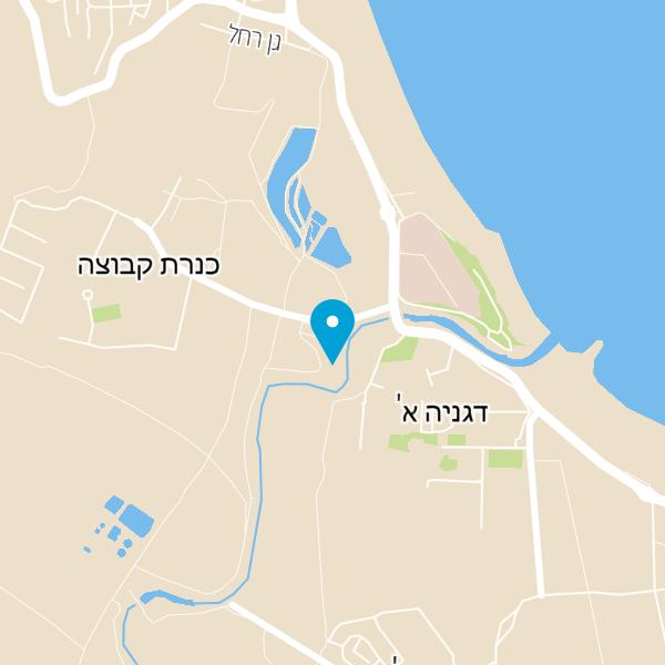 מפה של על הנהר