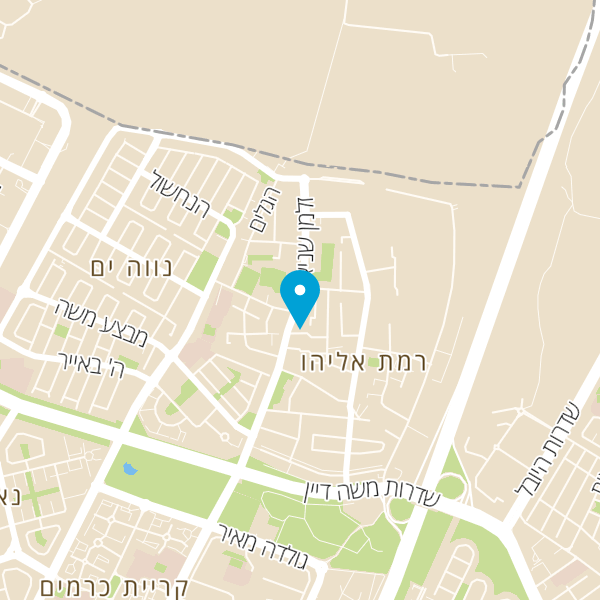 מפה של רודיס בורגר בר