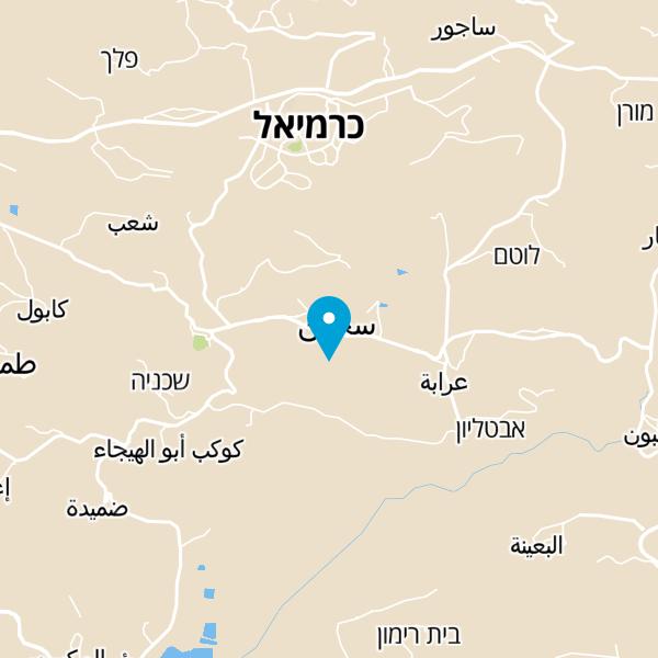 מפה של מסעדת דארנא
