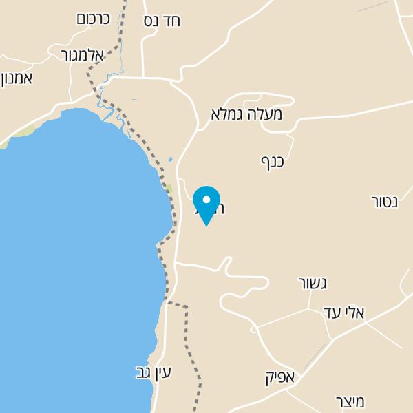 מפה של מגלים גליל
