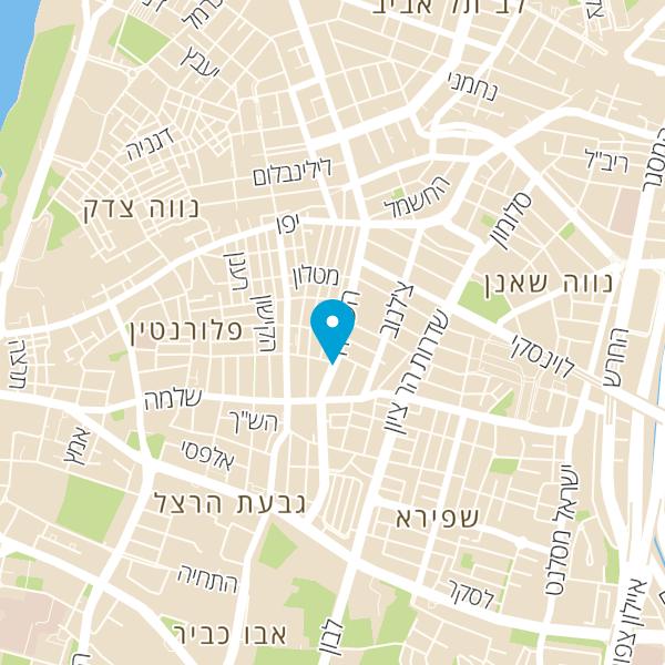 מפה של פיצה פרנקל