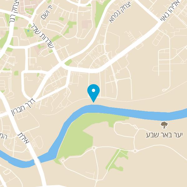מפה של דיזיין פלוס באר שבע