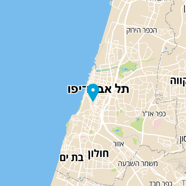 מפה של משה פיצה
