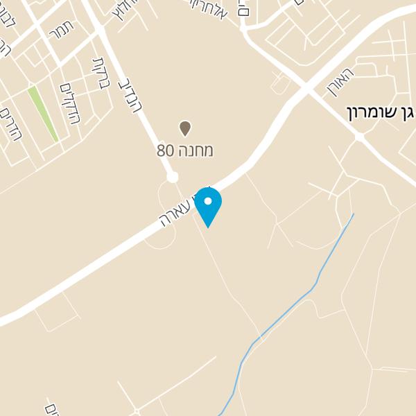 מפה של מסעדת עירון