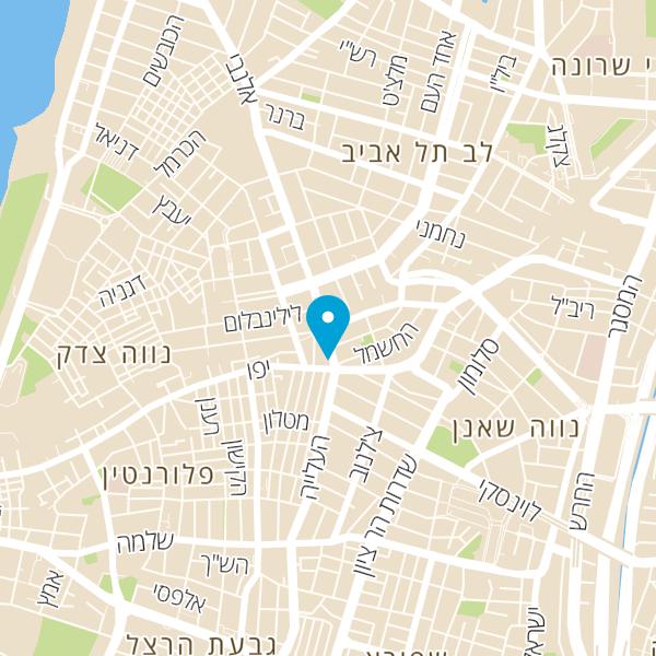 מפה של מטרו בורגר