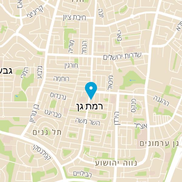 """מפה של ד""""ר אביגדור סרברניק"""