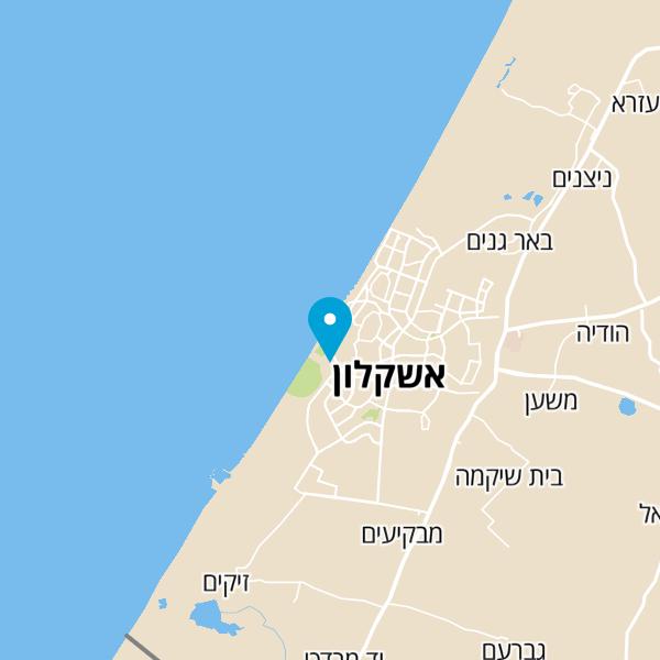 מפה של חוף דלילה